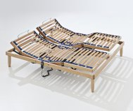 Rete Ortopedica in legno mod.Tevere Motorizzata