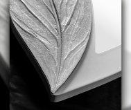 Specchiera petalo bianco pintdecore