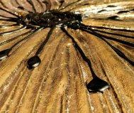Specchio petunia oro scomposta pintdecor