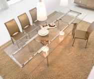 Tavolo arcos 8050b allungabile tonin casa